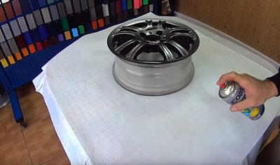 Как покрасить автомобильный диск в домашних условиях