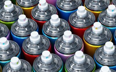 История аэрозольных красок