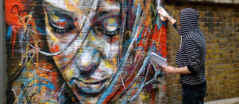 Аэрозольные краски для создания граффити